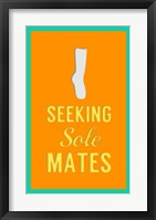 Framed Seeking Sole Mates