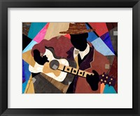 Framed Memphis Blues