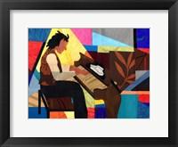 Framed Piano Man