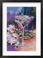 Framed N.Y. Martini