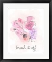 Framed Brush it Off