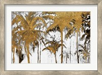 Framed Luxe Palms I