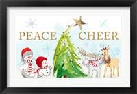 Framed Whimsical Christmas