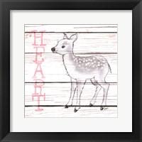 Framed Deer Heart