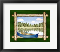 Framed Framed Lake View III