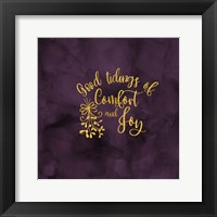 Framed All that Glitters for Christmas II-Comfort and Joy