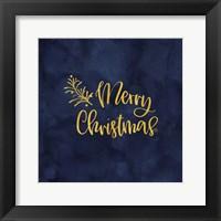 Framed All that Glitters for Christmas IV-Merry Christmas