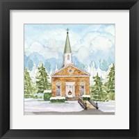 Christmas Village I Framed Print