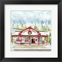 Christmas Village II Framed Print