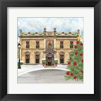 Christmas Village IV Framed Print