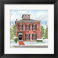 Christmas Village V Framed Print