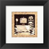 Maison Bath IV Framed Print