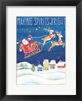 Framed Making Spirits Bright portrait