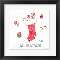 Framed Vintage Holiday Cheer I
