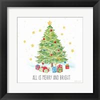 Framed Vintage Holiday Cheer II