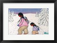 Framed Winter Walk