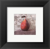 Framed Succulent Pear