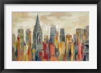 Framed Manhattan - The Chrysler Building