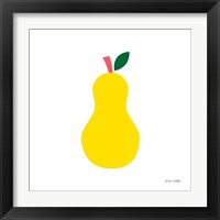 Framed Yellow Pear