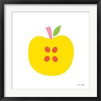 Framed Yellow Apple