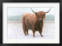 Framed King of the Highland Fields