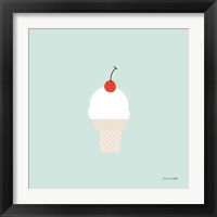 Framed Ice Cream Cone II