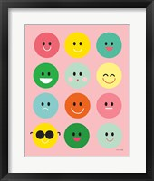 Framed Happy Circles