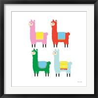 Framed Llamas
