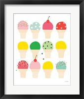 Framed Ice Cream Fun
