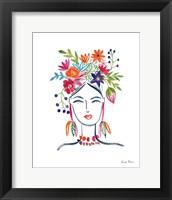 Framed Flower Girl II