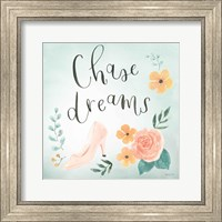 Framed Chase Dreams I Green