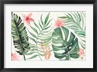 Framed Paradise Petals I