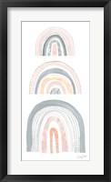 Boho Rainbow V Framed Print