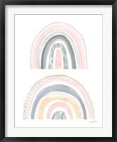 Boho Rainbow III Framed Print