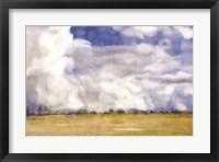 Framed Big Blue Sky