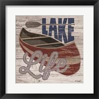 Framed Lafe Life Canoe