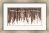 Framed Mountain Memories