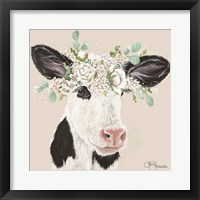Framed Patience the Cow