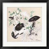 Framed Grace the Lamb