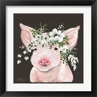 Framed Poppy the Pig