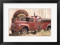 Framed Volunteer Firefighter