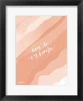 Framed Aim to Inspire