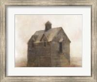 Framed Rustic Old House