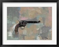 Framed 45 Revolver