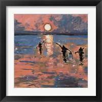 Framed Sunset Kayaking