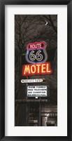Framed Route 66 Motel