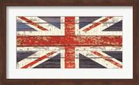 Framed Vintage Union Jack