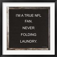 Framed NFL Fan