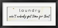 Framed Vintage Enamel Laundry I