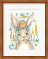 Framed Rabbits and Carrots Oh My